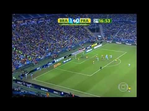 Brasil x França - Arena do Grêmio 09/06/2013