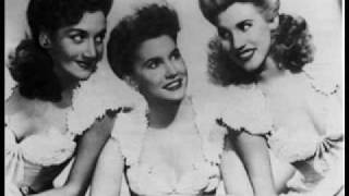 Andrew Sisters - I love you much too much
