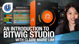IMSTA ONLINE | Bitwig - Bitwig Studio introduction | Claire Marie Lim