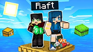 We're LOST on a Minecraft Raft!