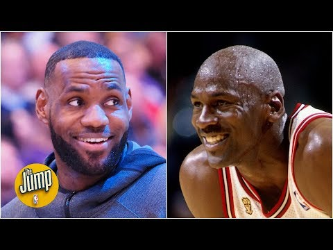 If LeBron leads the Lakers to a title, is the Michael Jordan/GOAT debate back? | The Jump
