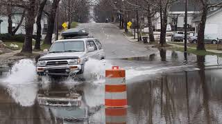 February flooding in Kalamazoo