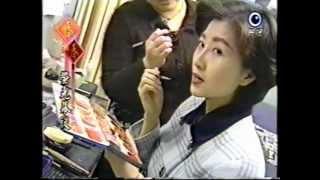 1998年民視新聞大年初五特別節目「螢光幕後」,廖筱君主持.
