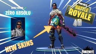 OMG NEUE SKINS ZERO ABSOLU UND KILL AT SNIPER FORTNitE BATTLE ROYALE DE