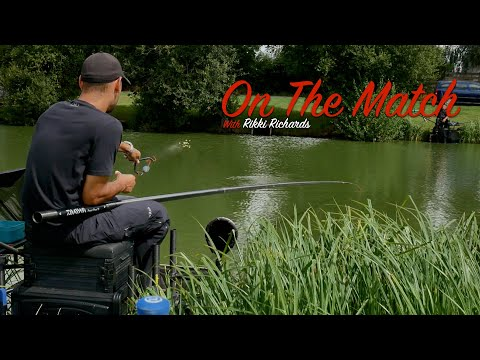 LIVE MATCH FISHING // Moorlands Farm Fishery //Open Match // Rikki Richards
