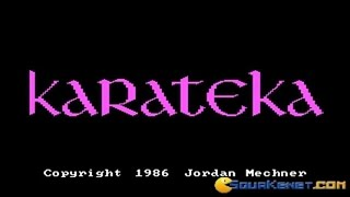 Karateka gameplay (PC Game, 1984)