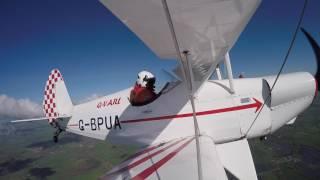 Loop, Roll, Spin EAA Biplane