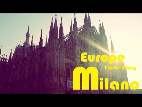 20160122 Europe Travel│Milano City Tour