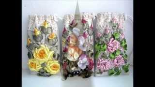 Авторская Вышивка Лентами.Embroidery ribbons.