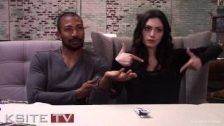 The Originals on Set: Charles Michael Davis & Phoebe Tonkin