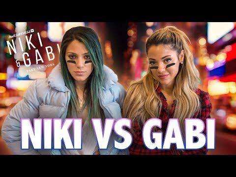 NIKI & GABI SCAVENGER HUNT | Niki and Gabi Take New York