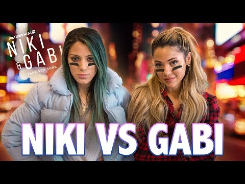 NIKI & GABI SCAVENGER HUNT | Niki and Gabi Take New York S3 EP 1