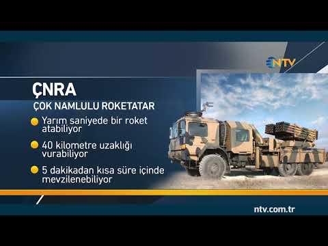 İşte Afrin Harekatı'nda kullanılan Türk yapımı silahlar