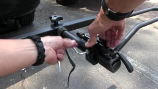 Mounting 915 and ElliptiGO bike to hitch rack
