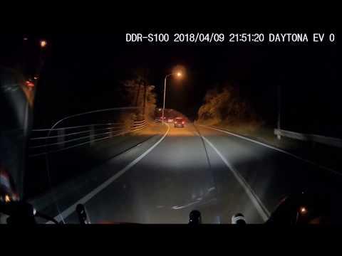 リード125 成田から会社まで夜間走行動画おっちゃんの一人言