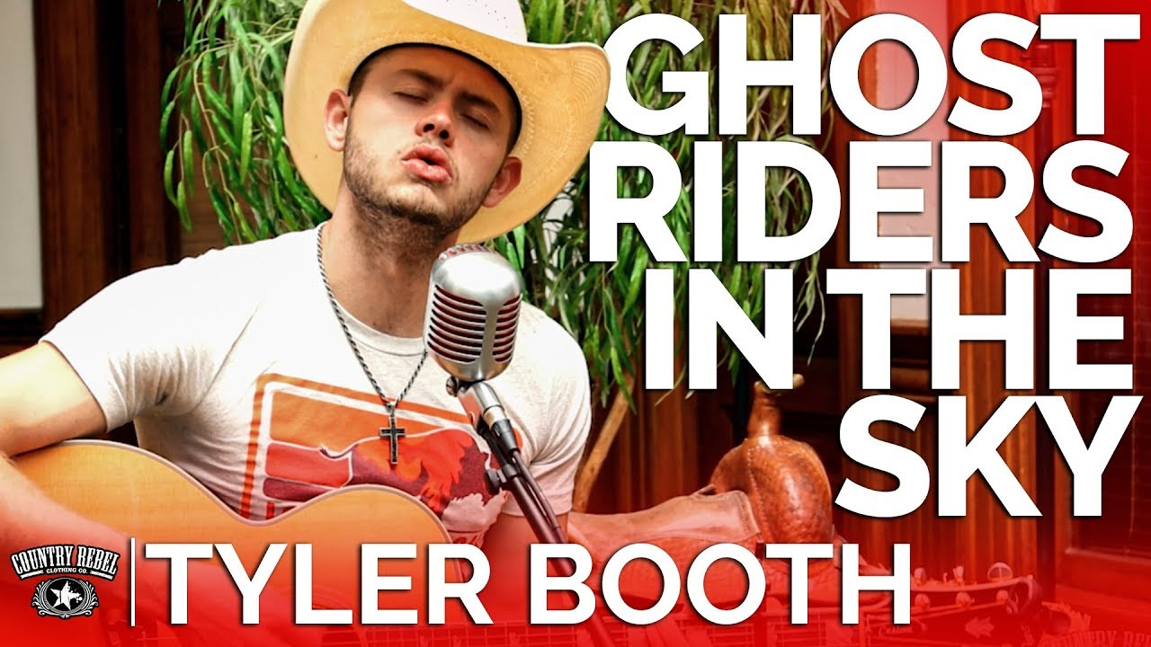 Tyler Booth — Ghost Riders In The Sky (Acoustic Cover) // Country Rebel HQ Session