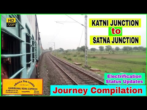 कटनी से सतना यात्रा | KATNI To SATNA | Journey Compilation | Onboard 12185 Rewanchal Express