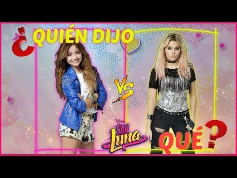 ¿Quién dijo qué?  Luna VS Ámbar   Soy Luna  ¡ADELANTE !