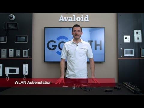 GOLIATH WLAN IP Video Türsprechanlage AV-VTA300W - Aufbau und Anschluss