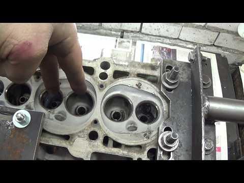 Фото к видео: Теория ДВС - ГБЦ с Audi, мотор AAH 2.8