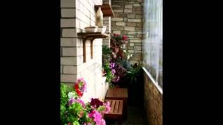 видео Как отделать лоджию декоративным камнем