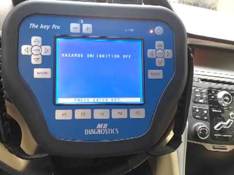 MVP Key Pro M8 Diagnosis Key Programming Tool Operation Video