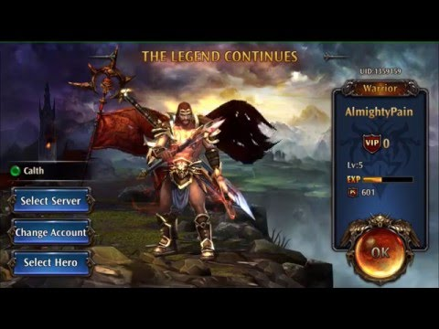 Eternity Warriors 4 Crusader Ep1 Gameplay