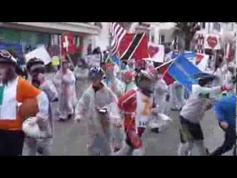 Carimentran Le Noirmont ( Carnaval ) samedi 1er mars 2014 cortège des enfants