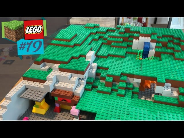 LEGO® X Minecraft World #19 - Der erste Unterbau wird neu gemacht - mit Erfolg?
