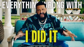 """Everything Wrong With DJ Khaled - """"I Did It"""" ft. Post Malone, Megan Thee Stallion, Lil Baby & DaBaby"""