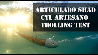 ARTICULADO SHAD CYL TROLLING - CURRICAN