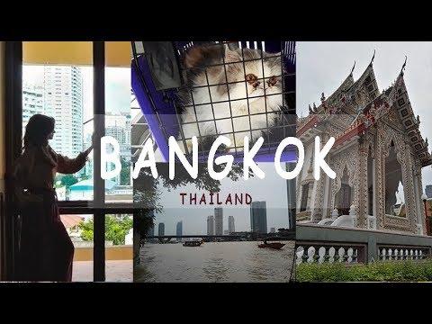 THAILAND VLOG: Attractions, shopping malls & food in Bangkok