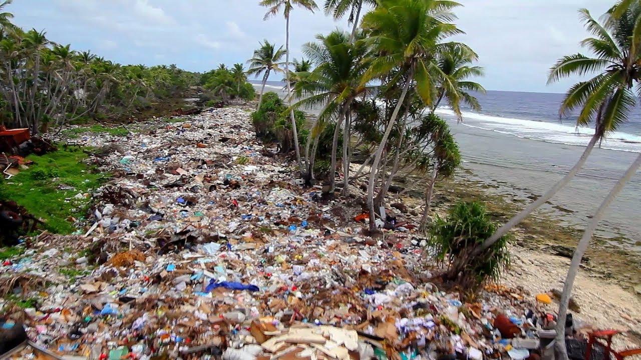 Océan de plastique