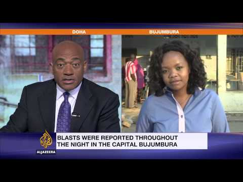 Burundi presidential polls open amid blasts and gunfire
