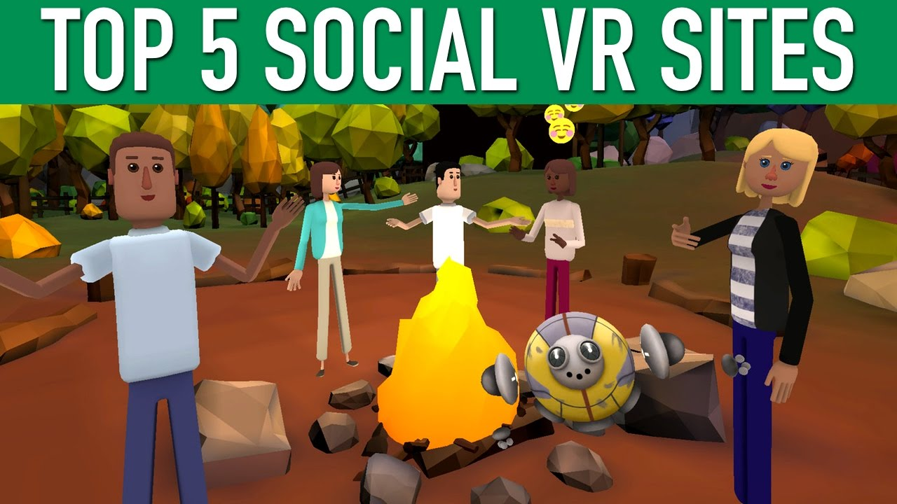 Top 5 Social Vr Sites In Virtual Reality - Youtube-3764