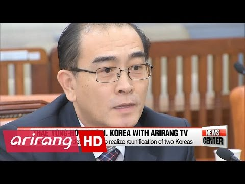 N. Korea to collapse and reunification to come within 5 years : Thae Yong-ho