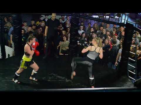 Fight Night 2018 - Meg Wright vs Rachel Lockwood