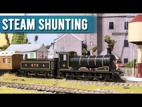 Shunting With Steam | Model Railway Steam Train Gala