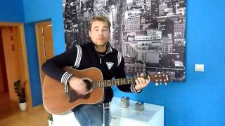 Dj Tommy Rogers playing on guitar - U Stánku :)