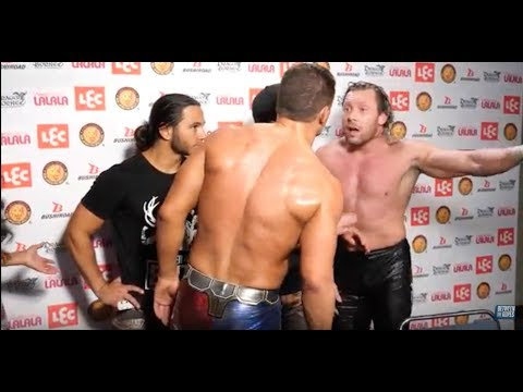 Dissention in the Bullet Club? Kenny Omega and Cody Argue at #G1USA