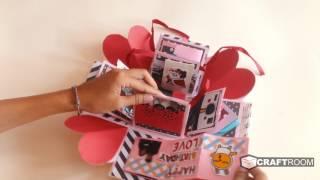EXPLOSIONBOX | happy birthday raymon | birthday gift | @craft.room