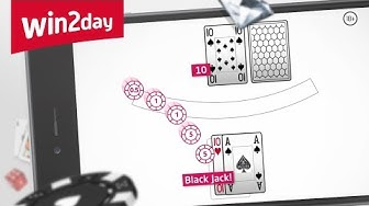 Black Jack auf win2day – Tutorial