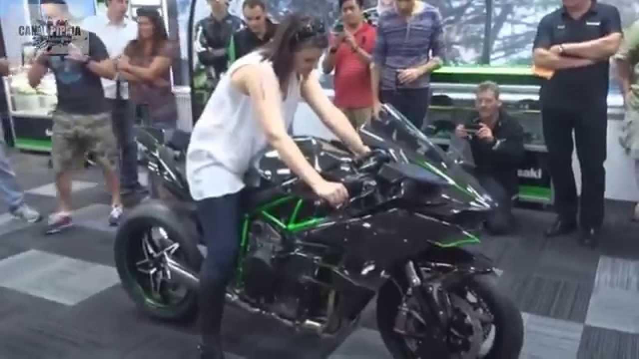 Exhaust Sound Kawasaki Ninja H2 R 2015 Youtube