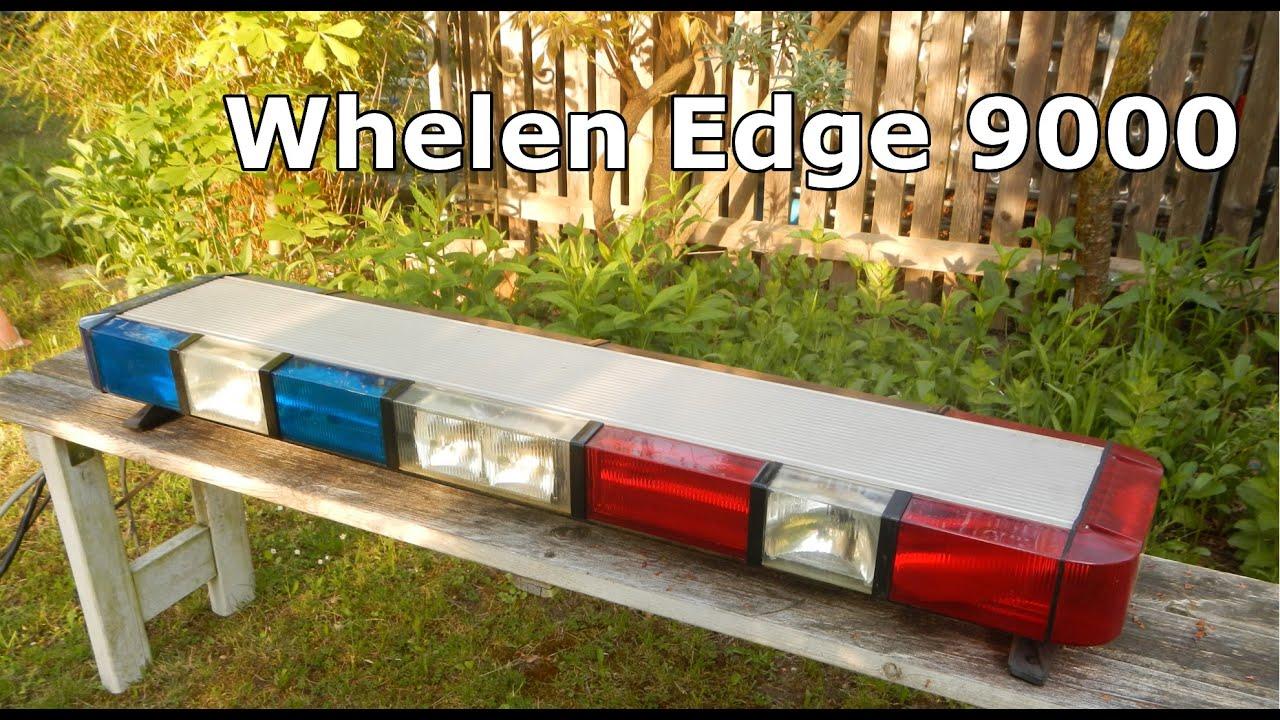 Whelen edge 9000 lightbar youtube whelen edge 9000 lightbar mozeypictures Choice Image