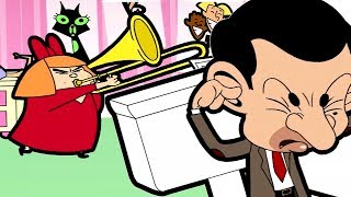 Noisy Neighbors | Funny Episodes | Mr Bean Cartoon World