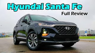 2019 Hyundai Santa Fe: FULL REVIEW + DRIVE | Style and Luxury Meet Affordability