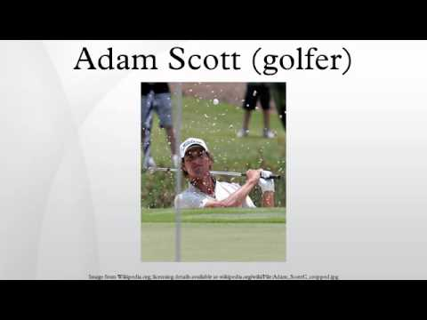 Adam Scott (golfer)