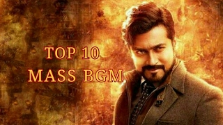TOP 10 MASS BGM'S IN TAMIL CINEMA