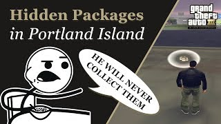 GTA 3 - Hidden Packages in Portland Island (33 Packages)