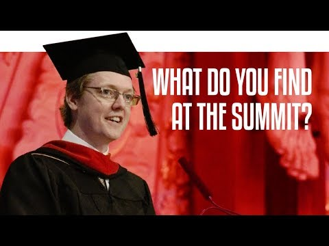 What Do You Find at the Summit? | Graduation 2017